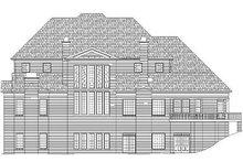 Dream House Plan - Classical Exterior - Rear Elevation Plan #119-246