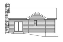 Cottage Exterior - Rear Elevation Plan #22-567