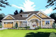 Traditional Style House Plan - 3 Beds 2 Baths 1776 Sq/Ft Plan #46-413
