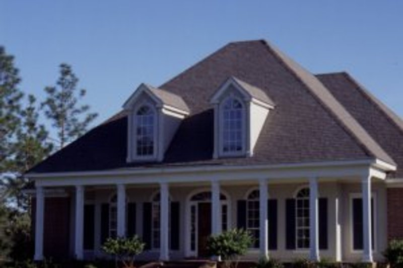 Southern Exterior - Other Elevation Plan #37-110 - Houseplans.com