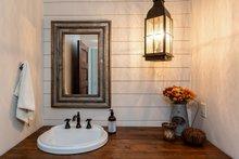 House Plan Design - Half Bath Off Foyer