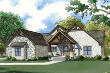 House Plan Design - Craftsman Exterior - Front Elevation Plan #923-72