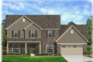 Farmhouse Exterior - Front Elevation Plan #329-387