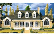 Southern Style House Plan - 3 Beds 2 Baths 1759 Sq/Ft Plan #3-145 Exterior - Front Elevation