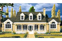 Dream House Plan - Southern Exterior - Front Elevation Plan #3-145