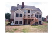Colonial Style House Plan - 4 Beds 3.5 Baths 2865 Sq/Ft Plan #429-13 Exterior - Other Elevation