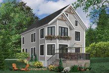 Home Plan - European Exterior - Front Elevation Plan #23-2045