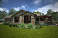 House Design - Ranch Exterior - Other Elevation Plan #120-194