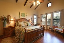 House Plan Design - Ranch Interior - Master Bedroom Plan #140-149