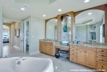 European Interior - Master Bathroom Plan #930-505