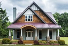 Architectural House Design - Craftsman Exterior - Front Elevation Plan #929-986