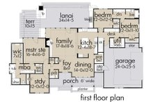 Farmhouse Floor Plan - Main Floor Plan Plan #120-253