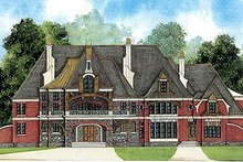 Home Plan - European Exterior - Front Elevation Plan #119-339