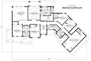 Traditional Style House Plan - 5 Beds 3.5 Baths 4171 Sq/Ft Plan #51-326 Floor Plan - Upper Floor Plan