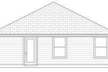 Dream House Plan - Craftsman Exterior - Rear Elevation Plan #84-499