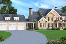 Dream House Plan - Craftsman Exterior - Front Elevation Plan #419-147