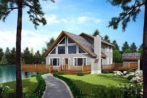Exterior - Front Elevation Plan #312-574