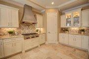 Mediterranean Style House Plan - 4 Beds 4 Baths 3012 Sq/Ft Plan #27-445 Interior - Kitchen