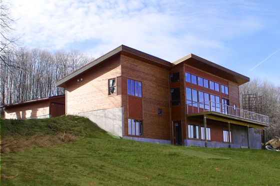 Modern Exterior - Front Elevation Plan #498-1