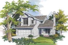 Dream House Plan - Traditional Exterior - Front Elevation Plan #48-196