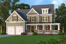 Dream House Plan - Country Exterior - Front Elevation Plan #419-181