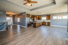 Home Plan - Ranch Interior - Entry Plan #70-1484