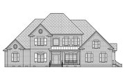 Traditional Style House Plan - 5 Beds 4.5 Baths 3754 Sq/Ft Plan #1054-23