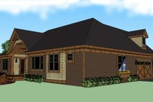 House Plan Design - Craftsman Exterior - Other Elevation Plan #51-511