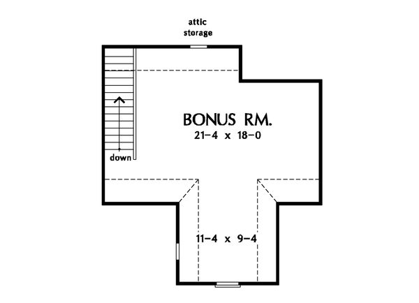 Country Floor Plan - Other Floor Plan Plan #929-20