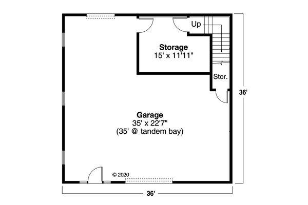 Traditional Floor Plan - Main Floor Plan Plan #124-1181