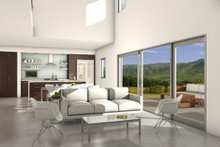 House Blueprint - Modern Family Room