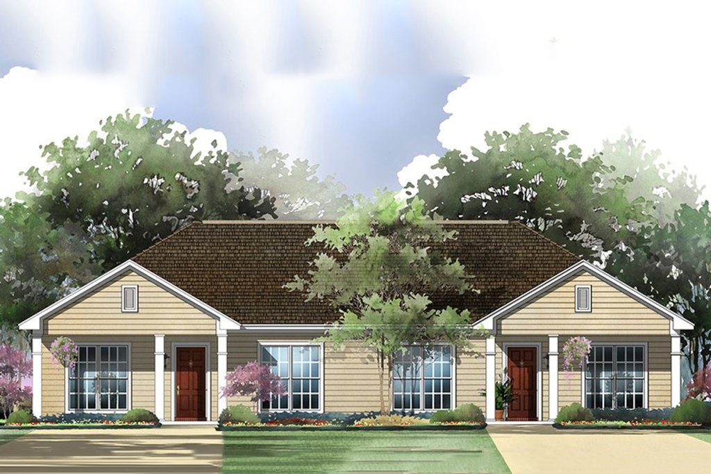 Ranch Style House Plan - 2 Beds 2 Baths 1800 Sq/Ft Plan #430-28 on