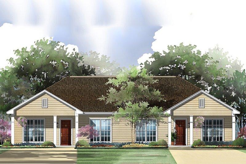 Dream House Plan - 1800 square foot duplex ranch home
