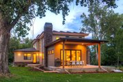 Contemporary Style House Plan - 4 Beds 3.5 Baths 3334 Sq/Ft Plan #1042-19 Exterior - Other Elevation