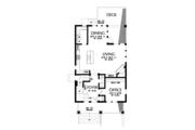 Craftsman Style House Plan - 4 Beds 3.5 Baths 2543 Sq/Ft Plan #48-678 Floor Plan - Main Floor