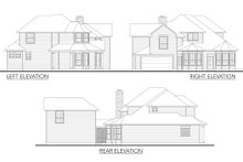 Home Plan - Traditional Exterior - Other Elevation Plan #80-148
