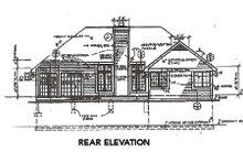 Traditional Exterior - Rear Elevation Plan #320-359
