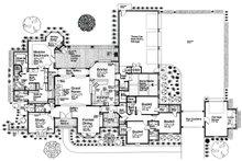 European Floor Plan - Main Floor Plan Plan #310-666
