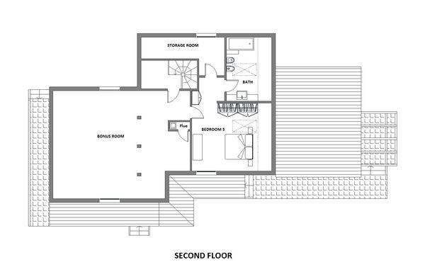 Farmhouse Floor Plan - Other Floor Plan Plan #542-10