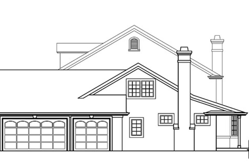 Colonial Exterior - Other Elevation Plan #124-216 - Houseplans.com