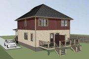 Southern Style House Plan - 4 Beds 2.5 Baths 1736 Sq/Ft Plan #79-276
