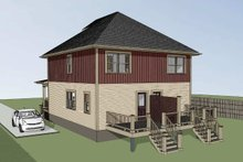 Southern Exterior - Other Elevation Plan #79-276