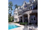 European Style House Plan - 5 Beds 6.5 Baths 8930 Sq/Ft Plan #453-50 Exterior - Other Elevation