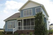 Craftsman Style House Plan - 4 Beds 2.5 Baths 1946 Sq/Ft Plan #48-115 Exterior - Rear Elevation