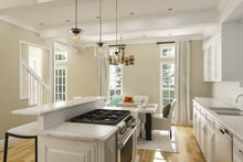Architectural House Design - Cottage Interior - Kitchen Plan #45-595