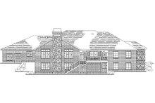Dream House Plan - European Exterior - Rear Elevation Plan #5-296