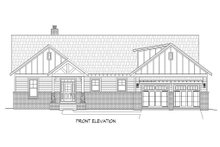 Dream House Plan - Craftsman Exterior - Front Elevation Plan #932-10