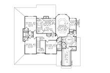 Farmhouse Floor Plan - Upper Floor Plan Plan #54-378