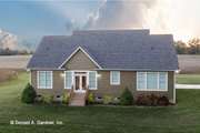 Craftsman Style House Plan - 3 Beds 2 Baths 1473 Sq/Ft Plan #929-428 Exterior - Rear Elevation
