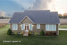 Dream House Plan - Craftsman Exterior - Rear Elevation Plan #929-428